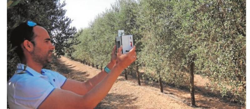 La tecnología garantiza el riego óptimo en los cultivos de La Vega