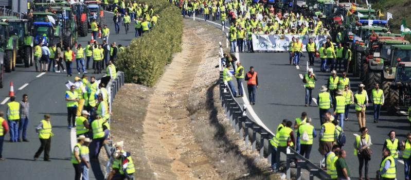 Los agricultores y ganaderos se concentrarán el 15 de abril en Sevilla en contra de la…