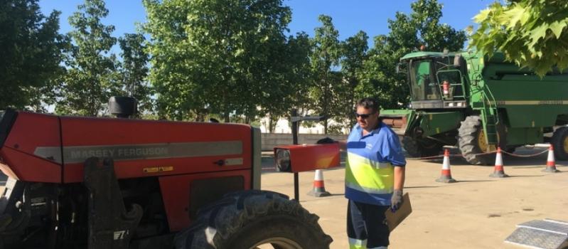 Esta semana podrás pasar la ITV agrícola en Los Palacios, Montellano, El Saucejo, Isla Mayor, Pilas,…