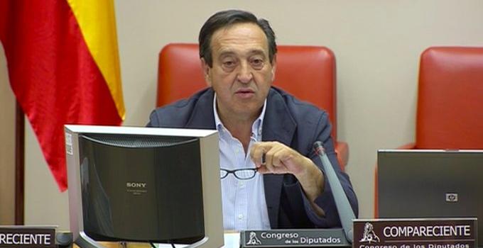Pedro Barato reclama en el Congreso de los Diputados políticas de apoyo para el sector agrario