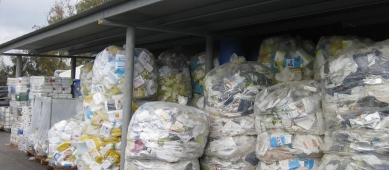 Los agricultores andaluces, a la cabeza en el reciclaje de envases de fertilizantes y fitosanitarios en…