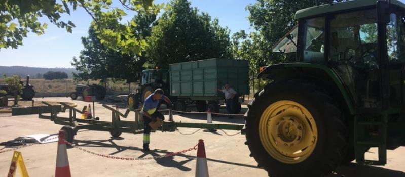 Esta semana podrás pasar la ITV a tu tractor en El Trobal, Lantejuela, Coripe, Villanueva de…