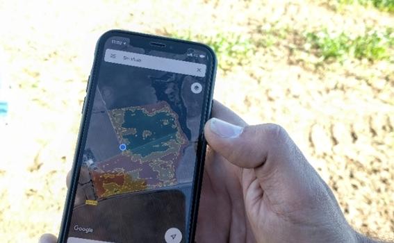 El uso de satélites en la agricultura de precisión