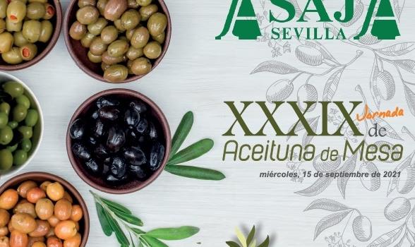 ASAJA-Sevilla celebrará su XXXIX Jornada de Aceituna de Mesa el próximo 15 de septiembre