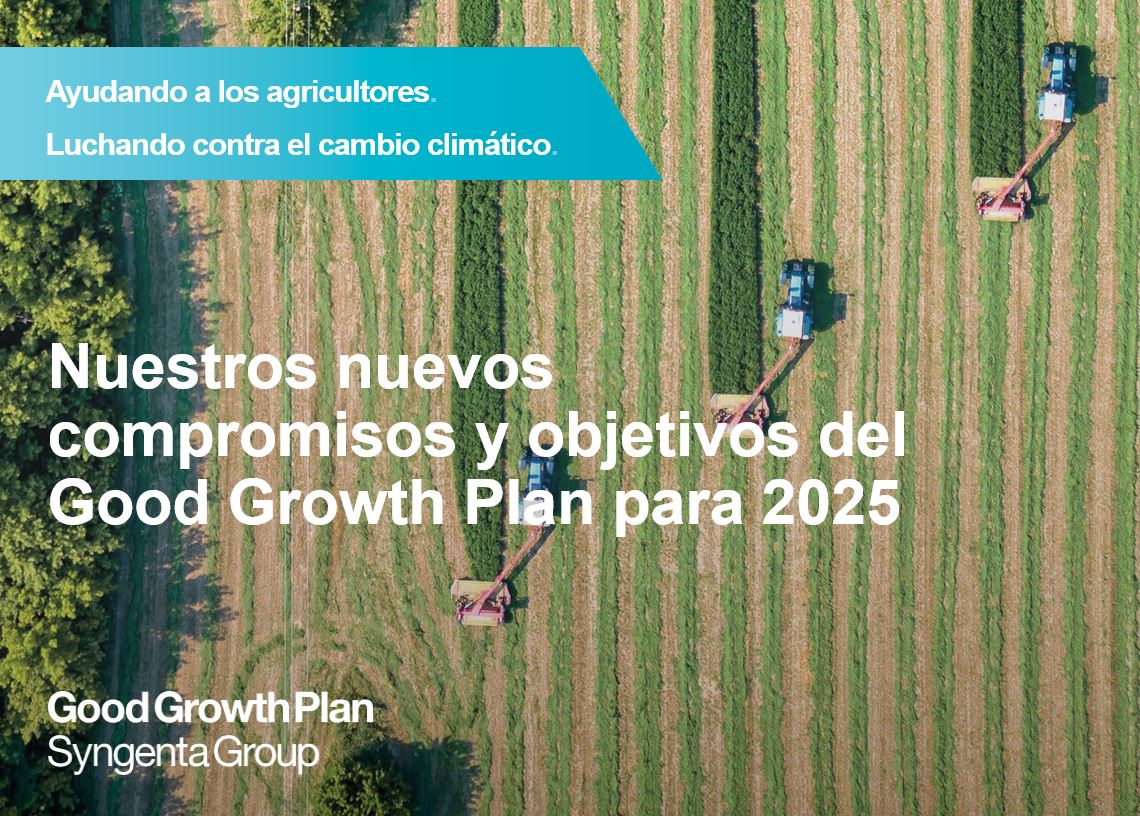 Sigue en directo la presentación del Good Growth Plan II de Syngenta